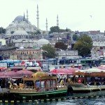 Istanbul – A View From Galata Bridge