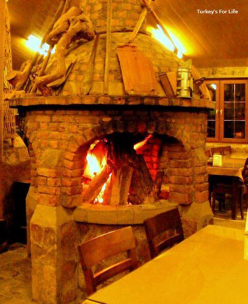Cin Bal Kayaköy Fireplace