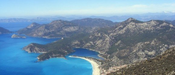 Ölüdeniz Lagoon From The Lycian Way