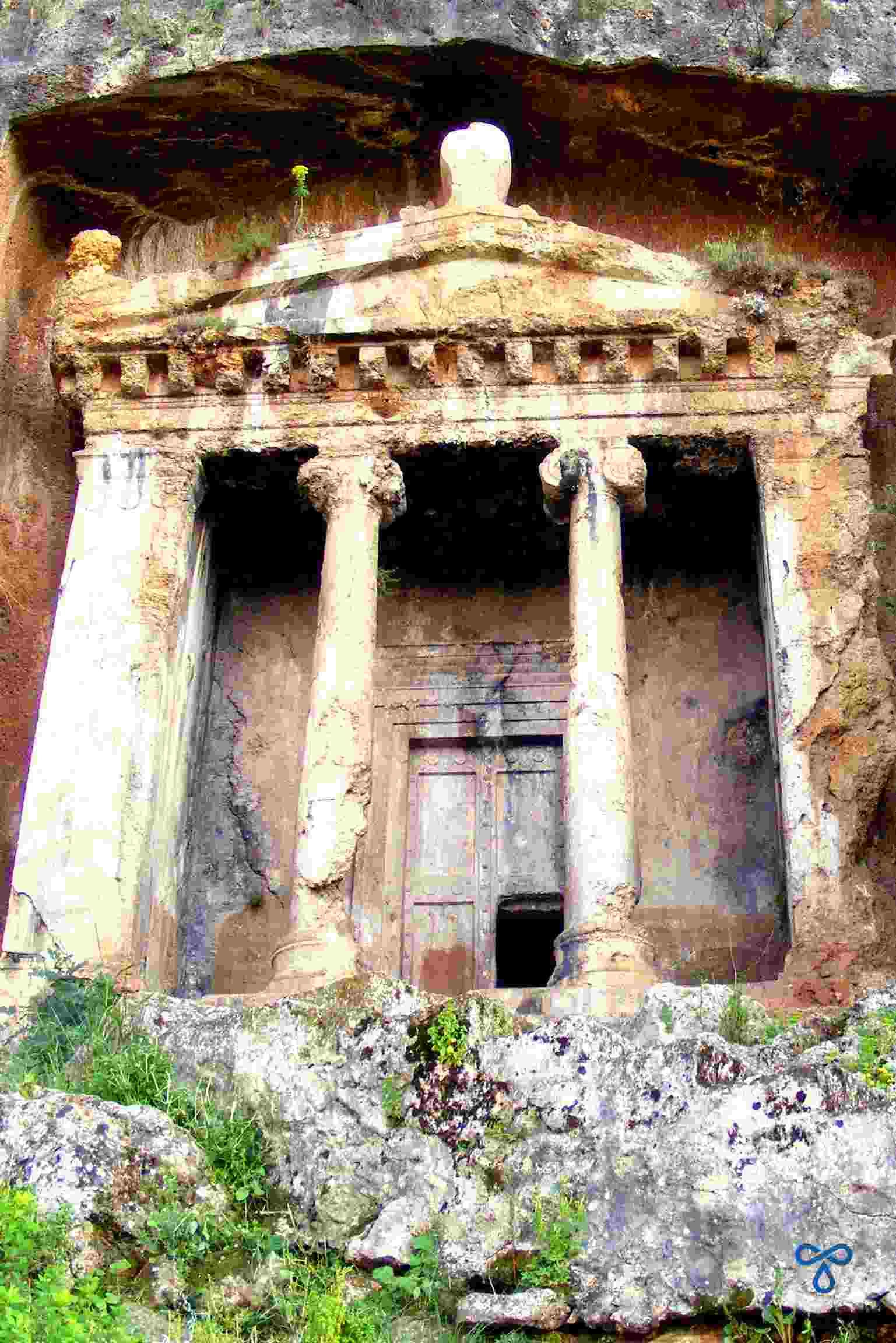 Amyntas Rock Tomb, Fethiye