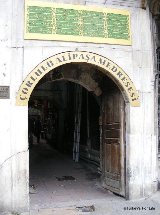 Çorlulu Alipaşa Medresesi, Istanbul