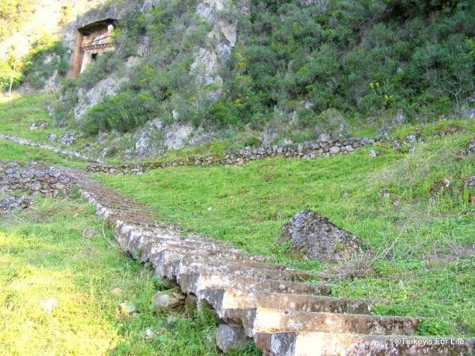 Climb To Amyntas Rock Tomb, Fethiye