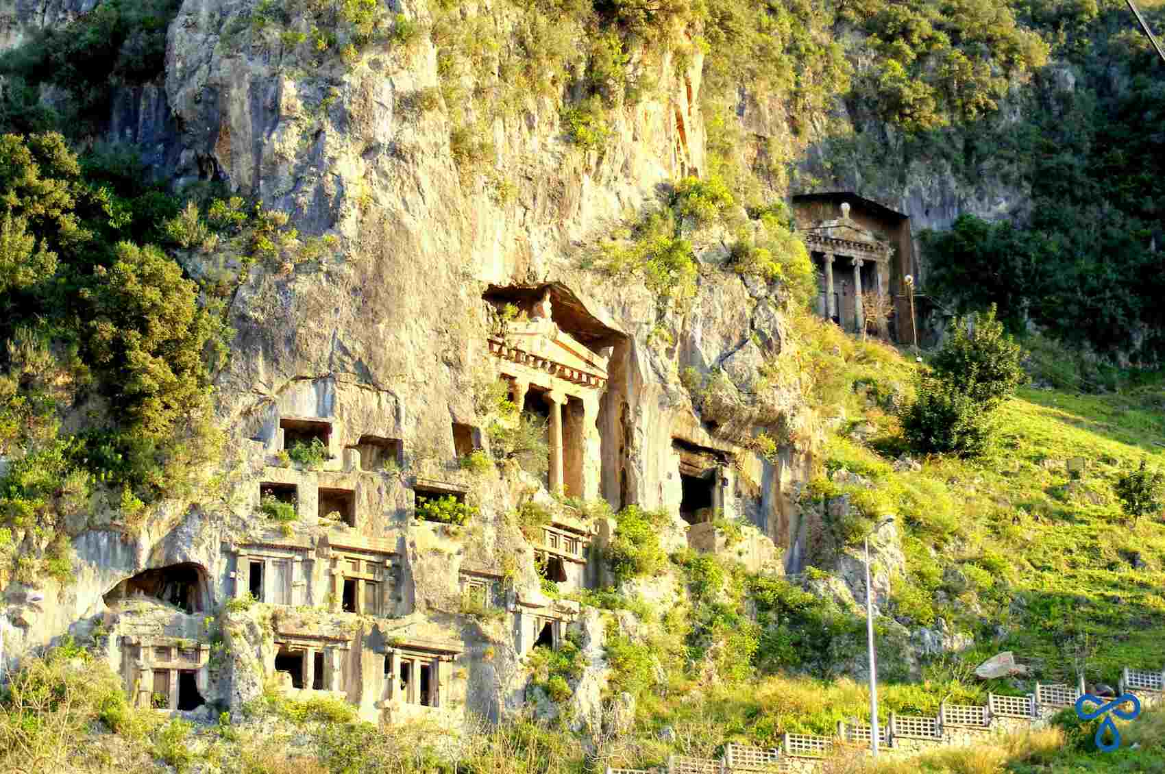 Fethiye Lycian Rock Tombs, Turkey