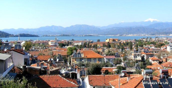 Fethiye View From King's Garden