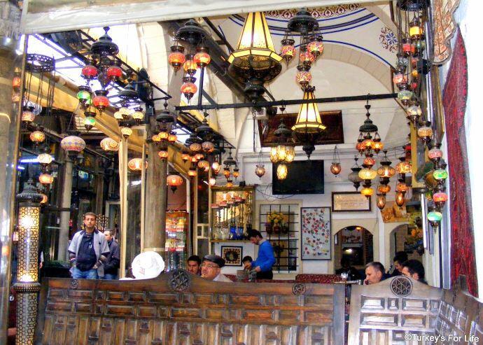 Inside Çorlulu Alipaşa Medresesi