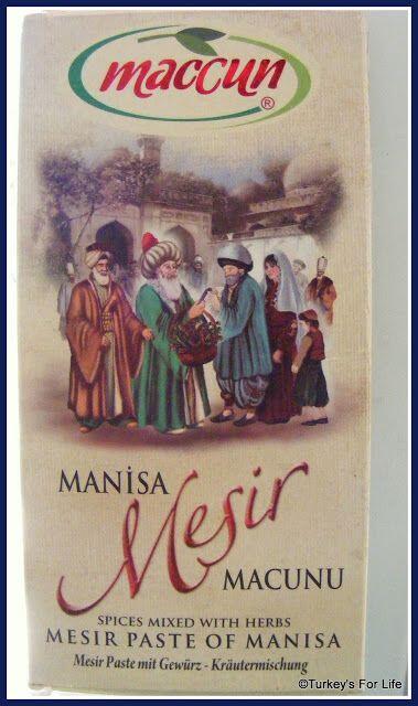 Manisa Mesir Macunu