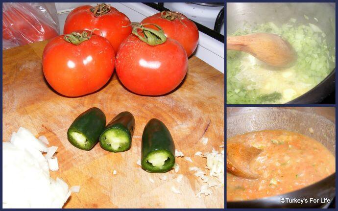 Turkish Tomato Soup Ingredients