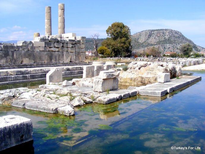 Ancient Letoon Ruins, Turkey