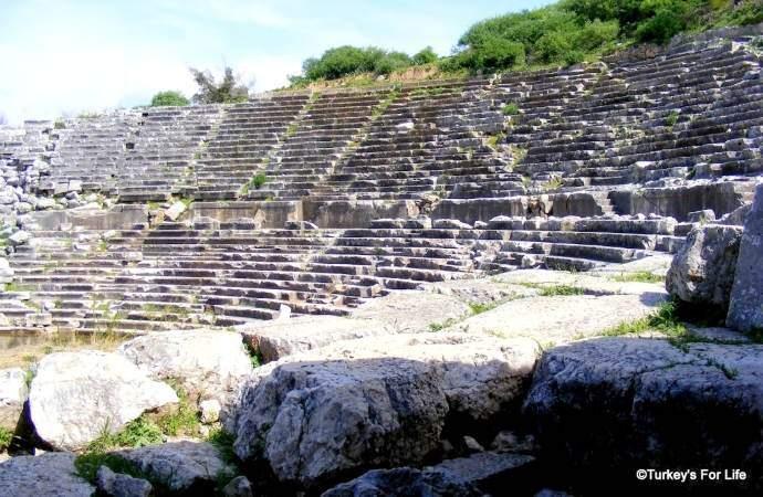 Ancient Theatre, Letoon, Turkey