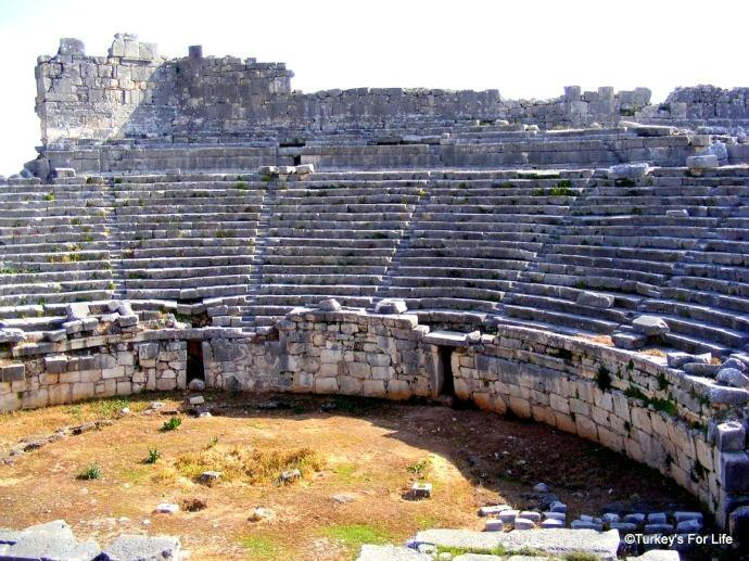 Ancient Theatre, Xanthos, Turkey