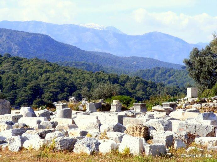 Archaeological Findings At Xanthos, Turkey