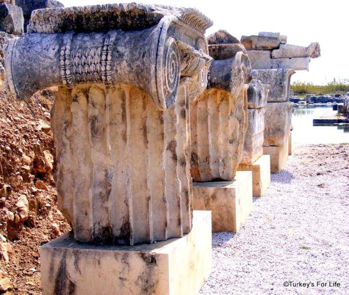 Archaeological Finds At Letoon, Turkey
