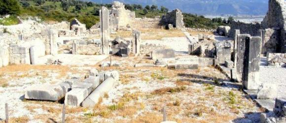 Byzantine Basilica, Xanthos, Turkey