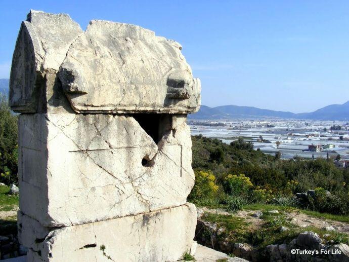 Lycian Sarcophagus, Xanthos, Turkey