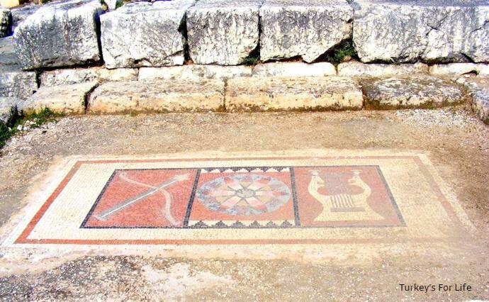 Mosaic At Letoon Ruins