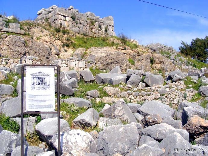 Nereid Monument, Xanthos, Turkey
