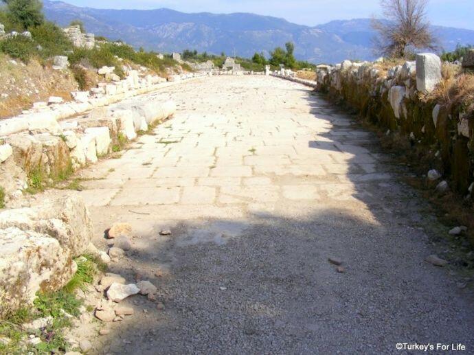 Roman Agora, Xanthos, Turkey