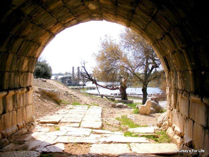 Temple Of Leto, Letoon, Turkey