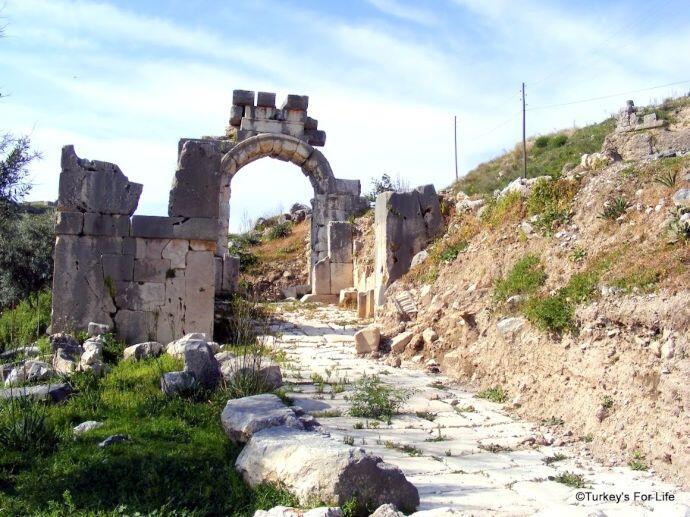 Xanthos Entrance, Lycian Way