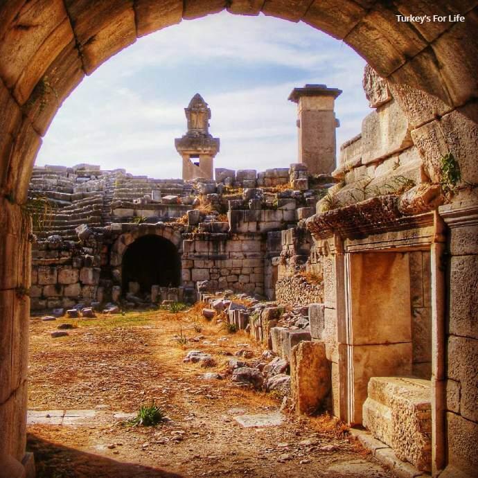 Xanthos Ruins, Turkey