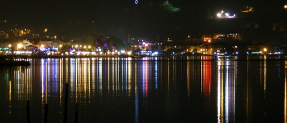 Fethiye Harbour At Night