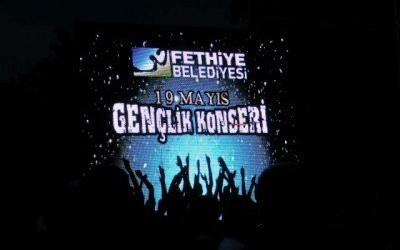 Fethiye Youth And Sports Bayram Concert, Turkey