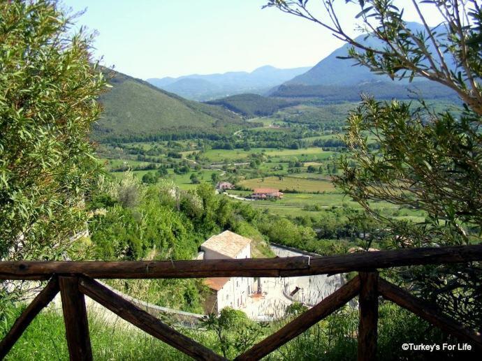 Liri Valley From San Pietro, Italy