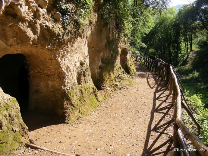 San Pietro Caves, Italy