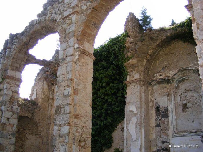 San Pietro Ruins, Italy