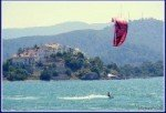 Çalış Beach Kite Surfer – A Photo