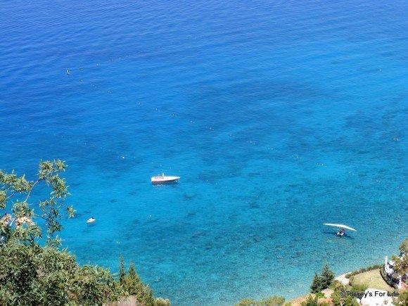 Blue Seas At Ölüdeniz, Turkey