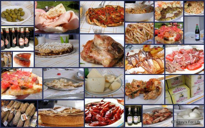 Italian Food Selection