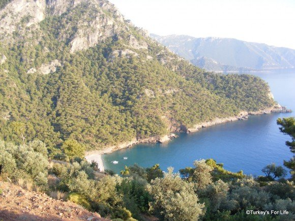 The most famous view from the Olive Garden, Kabak
