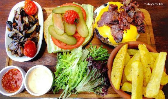 The Olive Garden Burger