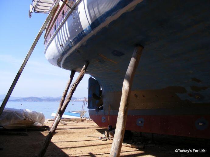 Sea View From Içmeler Boatyard