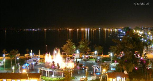 Night Views From Cafe Park Teras