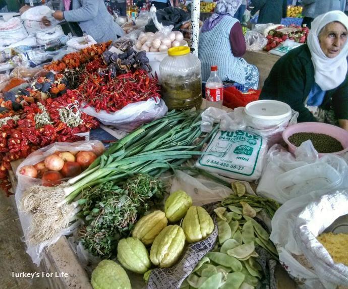 Friday Market Seasonal Food