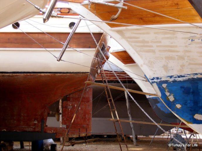 Boatyard Gülets