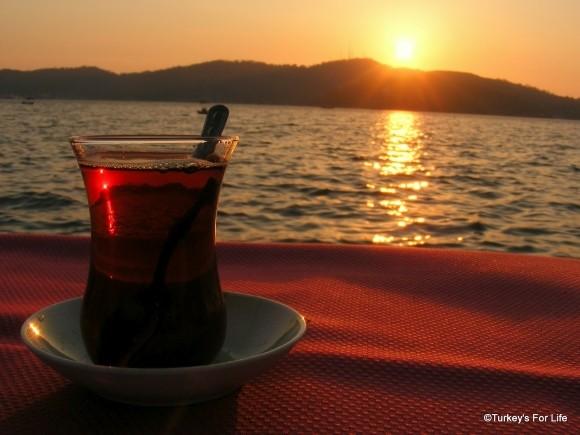 Sunset Çay, Hello Büfe, Fethiye, Turkey