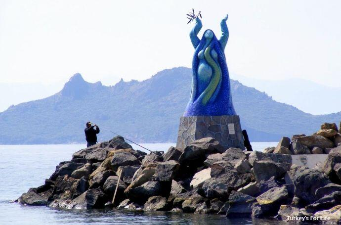 Statue Of Peace, Turgutreis