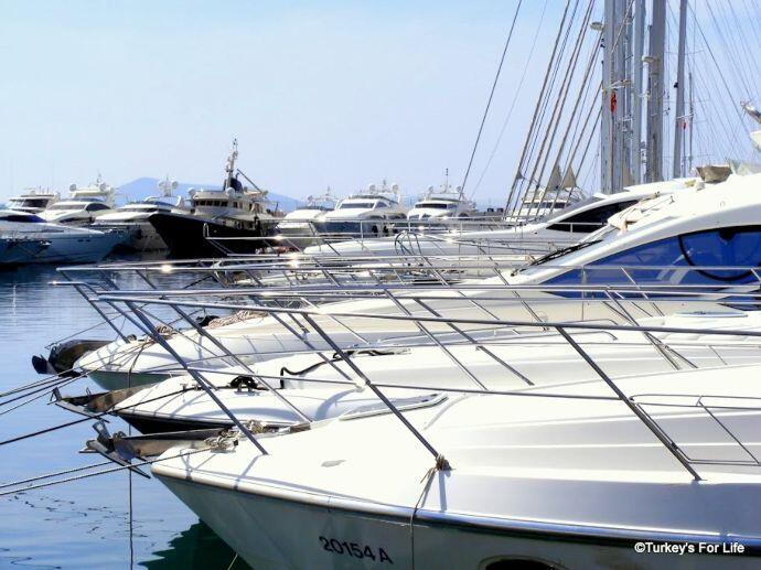 Turgutreis Marina Yachts