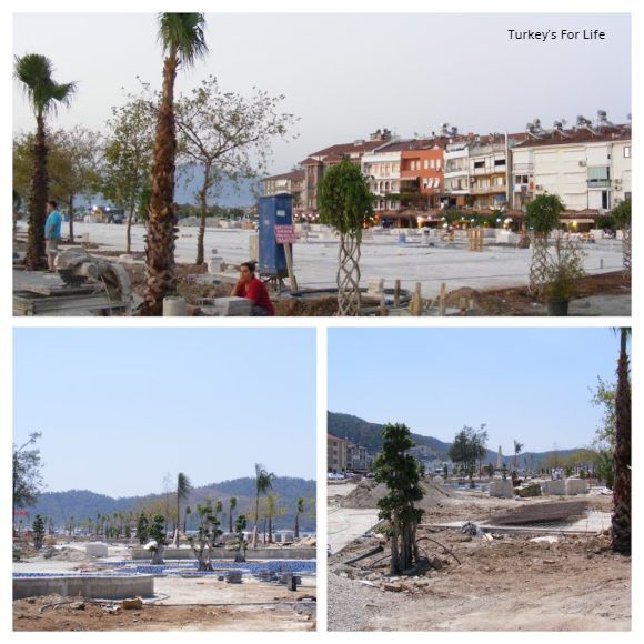 Fethiye Town Square Construction