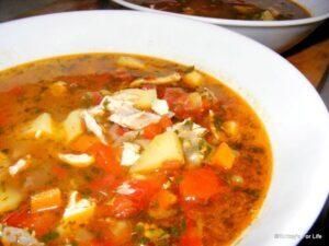 Mackerel Soup, Uskumru Çorbası