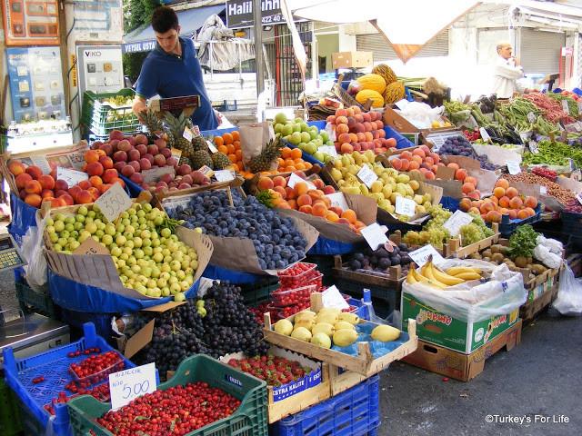 Alsancak Market, Izmir, Turkey