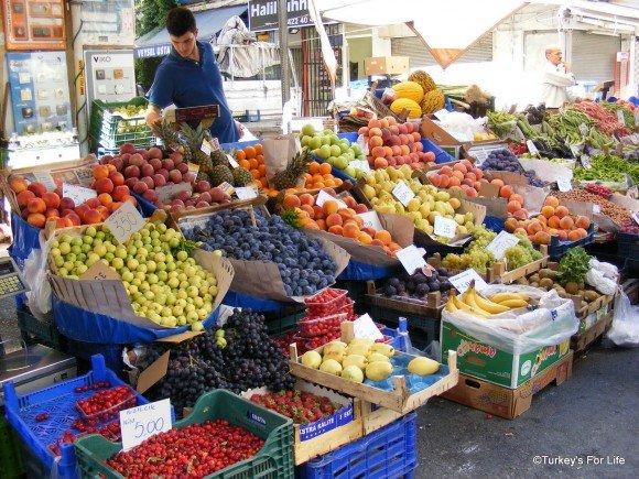 Fruit Stall, Alsancak Market