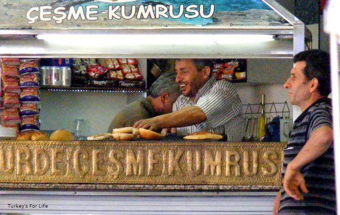 Çeşme Kumrusu, Izmir