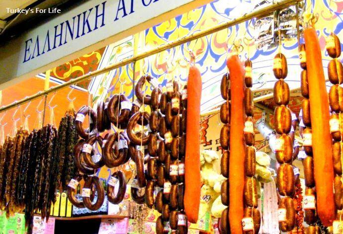 Egyptian Spice Bazaar - Sucuk