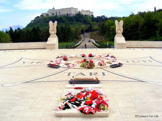 Polish War Cemetery And Monte Cassino