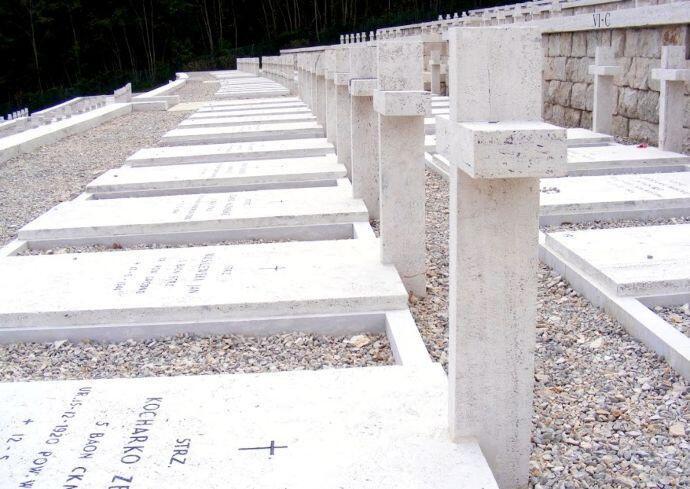 Polish War Graves, Cassino