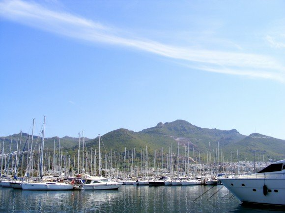 Turgutreis Marina On The Bodrum Peninsula